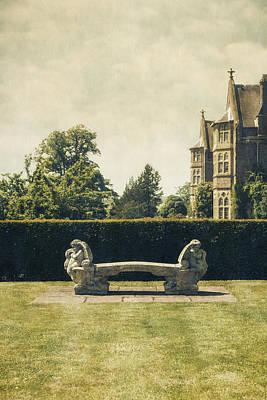 Garden Photograph - Stone Bench by Joana Kruse