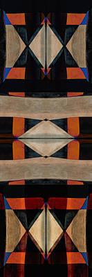 Canyon Digital Art - Stone Canyons Santa Fe Series 1 by Carol Leigh