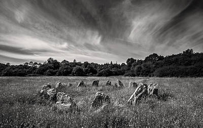 Stone Circle Ireland Print by Pierre Leclerc Photography