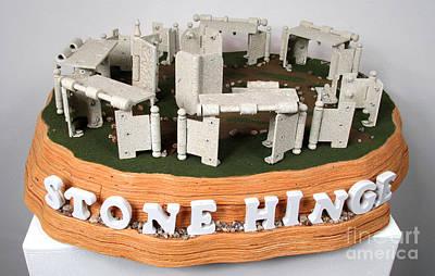 Czappa Sculpture - Stone Hinge .....stonehenge by Bill Czappa