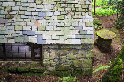 Horizontal Photograph - Stone House In The Forest by Priya Ghose