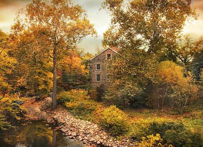 Stone Mill Views Print by Jessica Jenney