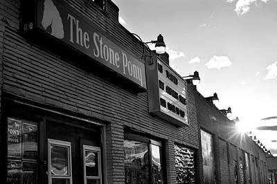 Stone Pony Asbury Park Side View Print by Terry DeLuco