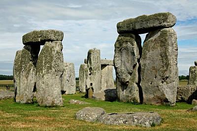 Stonehenge Print by Derek Sherwin