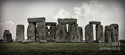 Winter Solstice Photograph - Stonehenge -- Mood 2 by Stephen Stookey
