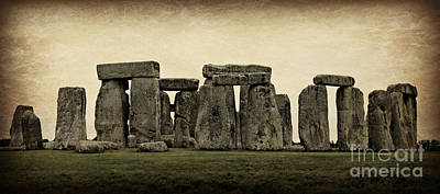 Winter Solstice Photograph - Stonehenge by Stephen Stookey