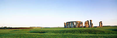 Solstice Photograph - Stonehenge Wiltshire England by Panoramic Images
