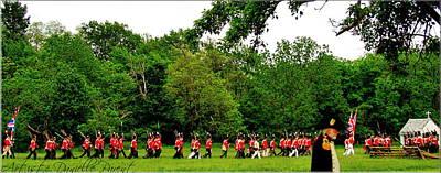 Soldier Field Digital Art - Battle Of Stoney Creek 1812 by Danielle  Parent