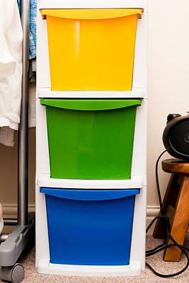 Storage Crates Print by Tom Gowanlock