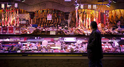 Boqueria Photograph - Store At Boqueria Market by Ruben Vicente