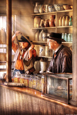 Colonial Man Photograph - Store - The Messenger  by Mike Savad