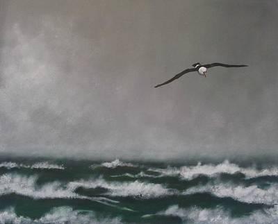 Storm At Sea Original by Robert Bleackley