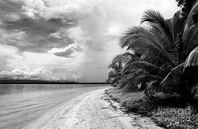 Storm Cloud On The Horizon Print by John Rizzuto