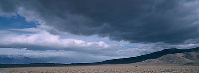 Storm Clouds Over A Desert, Inyo Print by Panoramic Images