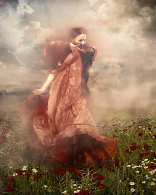 Joyful Mixed Media - Storm Dancer by Georgiana Romanovna