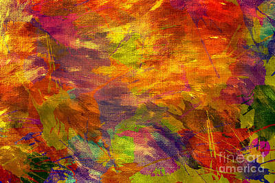 Storm In A Paint Pot Original by Kaye Menner