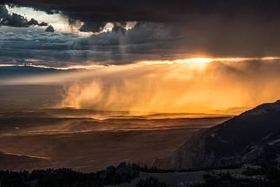 Ominous Photograph - Storm Light by Leland D Howard