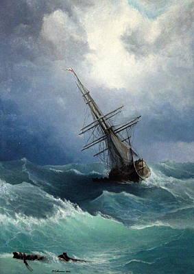 Storm Original by Mikhail Savchenko