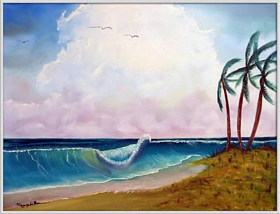 Storm On The Horizon Print by Joyce Krenson
