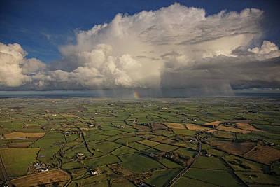 Rain Photograph - Storm Over Donaghadee, Northern Ireland by Colin Bailie