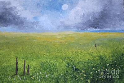 Storm Pasture Original by Alicia Maury