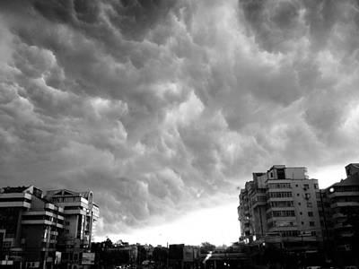 Storm Print by Silvia Puiu