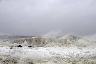 Storm Surge Print by JoAnn Lense