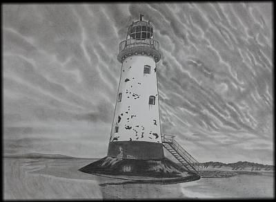 Storm Watch Original by Tony Clark