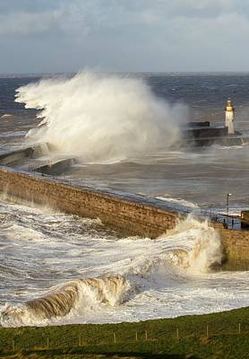Extreme Weather Photograph - Storm Waves by Ashley Cooper