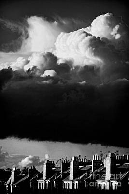 Book Jacket Design Photograph - Stormclouds Approaching by Craig B