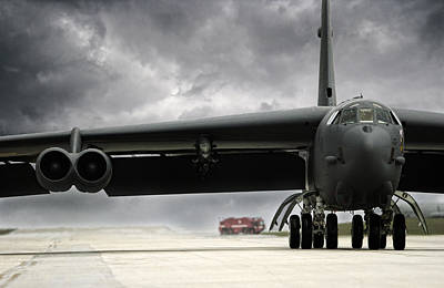 Boeing Photograph - Stormfront B-52 by Peter Chilelli