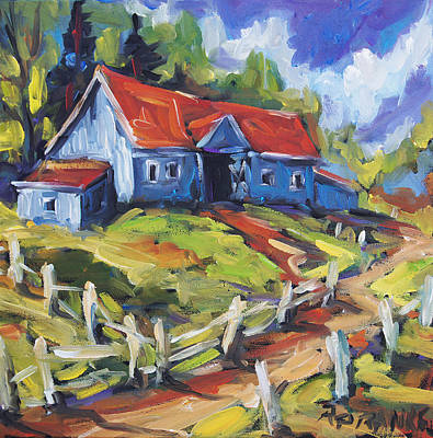 Canadiens Painting - Storms A Brewin By Prankearts by Richard T Pranke