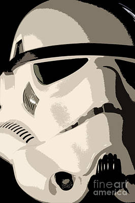 Science Fiction Photograph - Stormtrooper Helmet 102 by Micah May