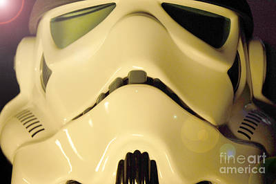 Science Fiction Photograph - Stormtrooper Helmet 105 by Micah May