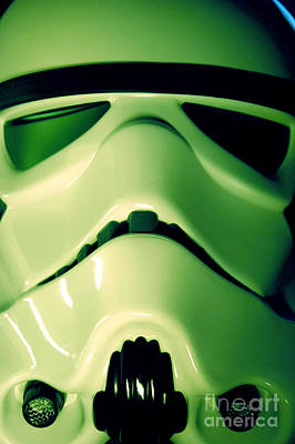 Science Fiction Photograph - Stormtrooper Helmet 109 by Micah May
