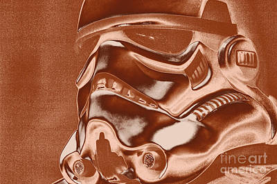 Science Fiction Photograph - Stormtrooper Helmet 32 by Micah May
