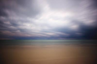 Surreal Landscape Photograph - Stormy Calm by Adam Romanowicz