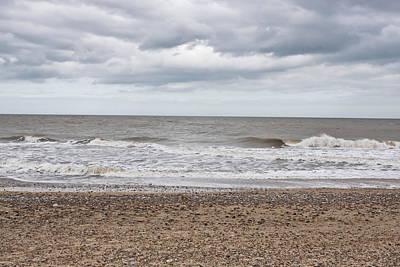 Grey Clouds Photograph - Stormy Coast by Tom Gowanlock