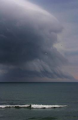 Stormy Days Print by Bruce Bley