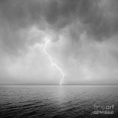 Stormy Night  Print by Dave Gordon