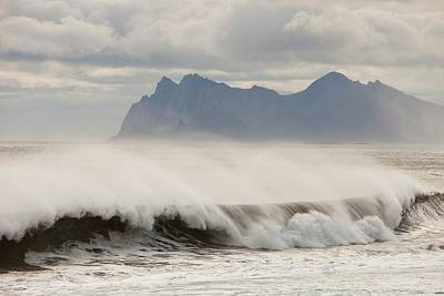 Stormy Sea Print by Ashley Cooper