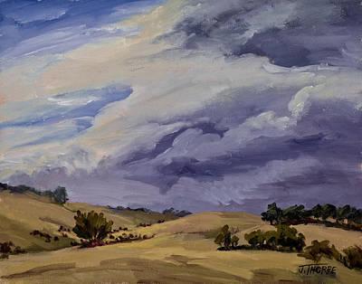 Southern Utah Painting - Stormy Skies by Jane Thorpe