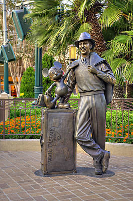 Disney Photograph - Storytellers by Ricky Barnard
