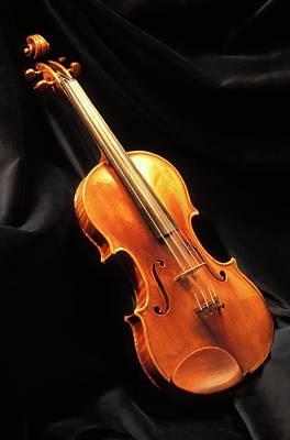 Stradivari Violin Print by Patrick Landmann