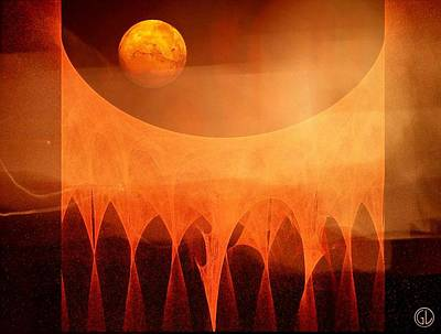 Strange Moon Print by Gun Legler