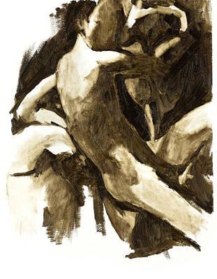 Strange Saint 2 Print by Chaim Nissim