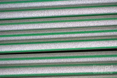 Abstract Forms Digital Art - Straw Green by Carol Lynch