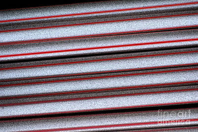 Abstract Forms Digital Art - Straw Red by Carol Lynch