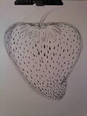 Strawberry Print by Thommy McCorkle