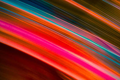Pink Photograph - Streaks 2 by Nathan Hillis